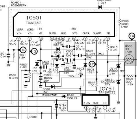Ic Gambar Tv Sharp sanyo tv schematic diagram get free image about wiring diagram
