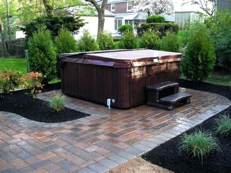 hot tub in small backyard seoandcompany co