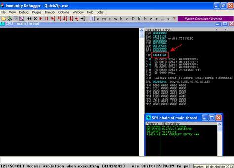 que es shift pattern en español real pentesting desarrollo de exploits problemas serios