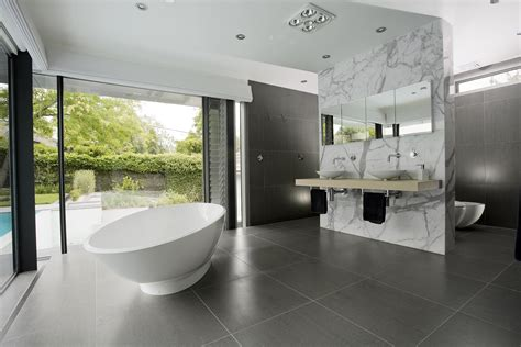 new modern bathroom designs minosa the open plan ensuite or parents retreat a few tips