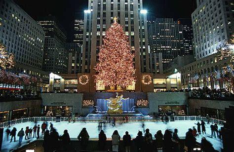 imagenes navidad new york encendido del 193 rbol de navidad del rockefeller center 2014