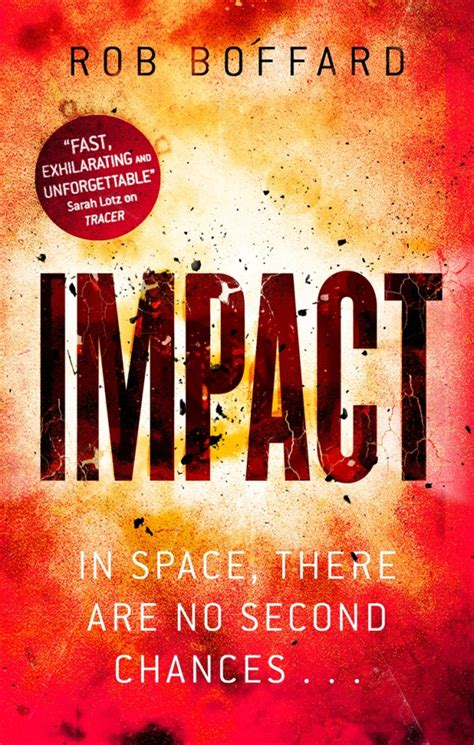 impact a safeguard novel books cover launch impact by rob boffard orbit books