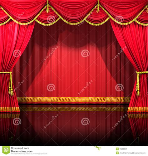 backdrop curtains for stage theater curtains with backdrop stock illustration image