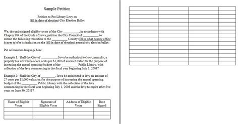 30 Petition Templates How To Write Petition Guide Free Template For Petition Signatures