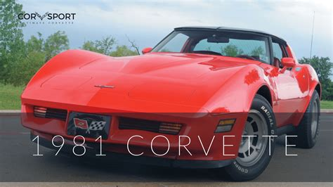 1981 corvette specs 1981 c3 corvette ultimate guide overview specs vin