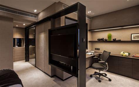 tv room divider interior partitions room zoning design ideas