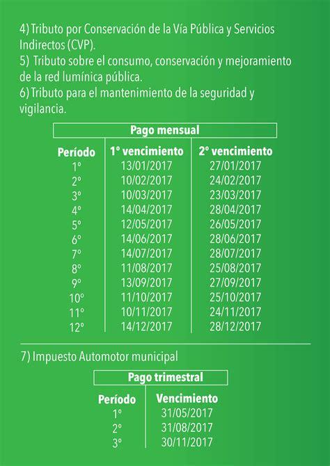 Calendario Fiscal Calendario Fiscal Municipalidad De Jos 233 C Paz