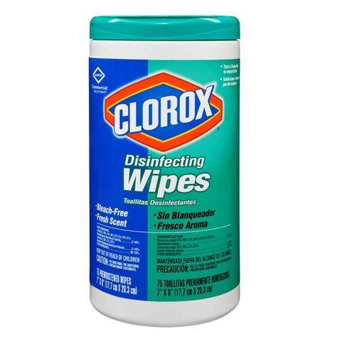 clorox wipes clorox disinfecting wipe fresh 1 75ct each model 15949