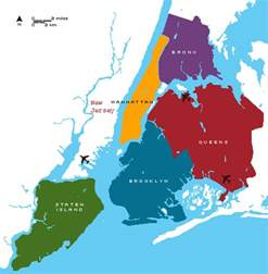 Map Of New York City Boroughs by Maps Map 5 Boroughs