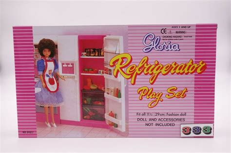 gloriabarbie doll house furniture refrigerator