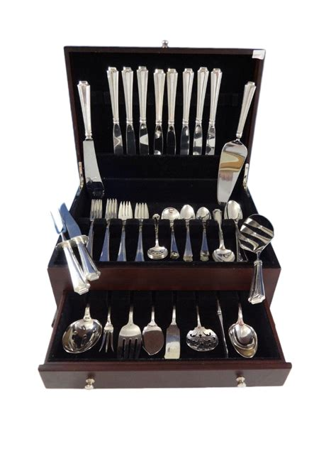 gorham book sterling silver spoons and forks classic reprint books fairfax by gorham sterling silver flatware set 8 service