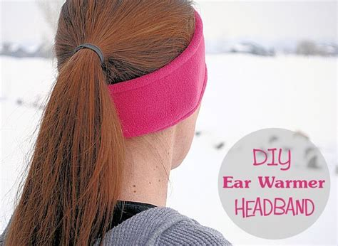 pattern for fleece headbands 17 best images about sewing fleece ear warmers on