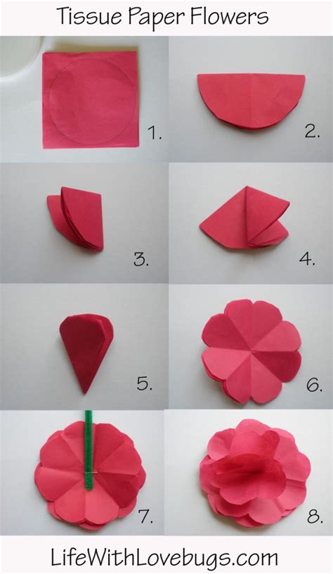 How To Make A Tissue Paper Step By Step - 25 best tissue paper centerpieces ideas on