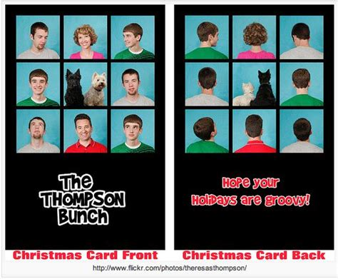 brady bunch card template brady bunch theme card by my wonderful cousin