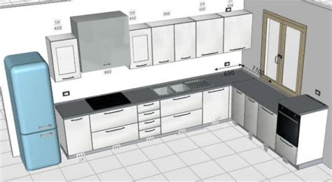 schema cucina costo progettazione impianti cucina