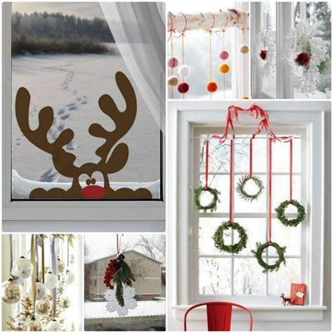Weihnachtsdeko Fenster Basteln by Kreative Ideen F 252 R Eine Festliche Fensterdeko Zu Weihnachten