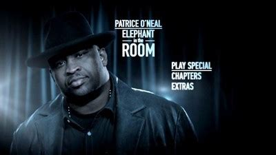 elephant in the room patrice dvd talk gt reviews gt patrice o 39 neal elephant in the room