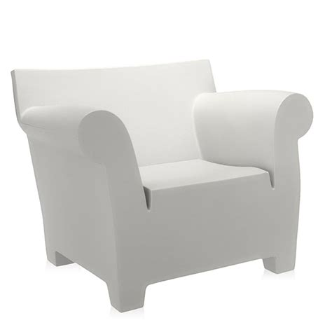 kartell armchair kartell philippe starck bubble club armchair white panik
