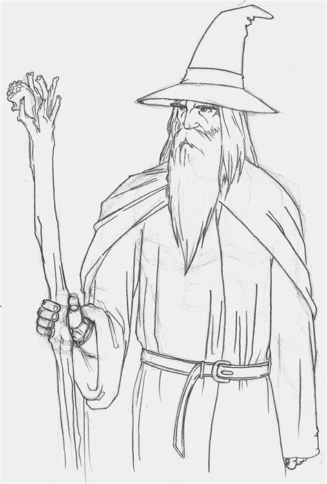 What Can I Sketch Weekly Sketch 001 Gandalf By Creid On Deviantart