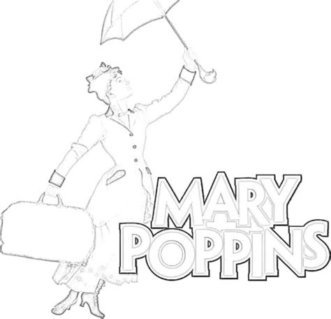 mary poppins 1 disney coloring pages pinterest
