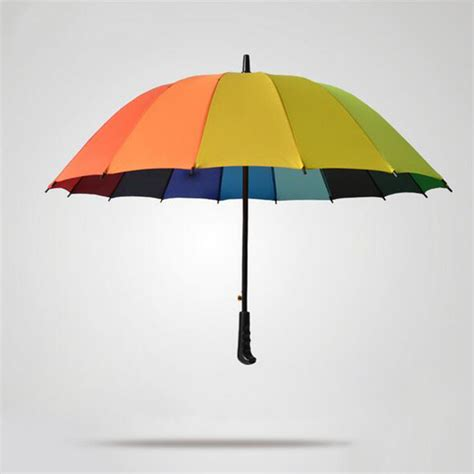 aliexpress umbrella aliexpress com buy high quality rainbow umbrella women