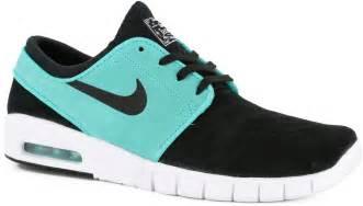 Retro L Nike Sb Stefan Janoski Max L Skate Shoes Black Black