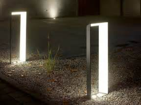 outdoor designer lighting aluminium bollard light lighting l