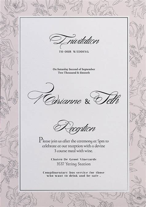 Wedding Invitation Flyer Template Freepsdflyer Free Wedding Invitation Flyer Template Download For Photoshop