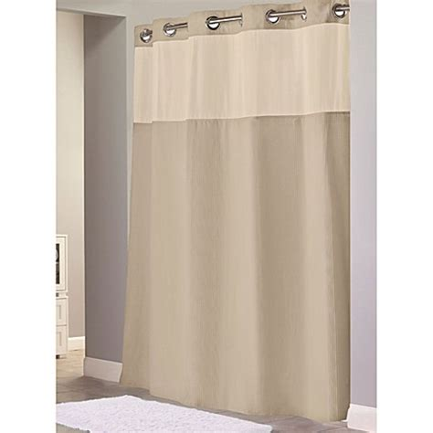 Hookless 174 Waffle 71 Inch X 86 Inch Long Fabric Shower