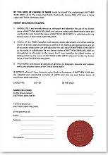 what is a deed poll
