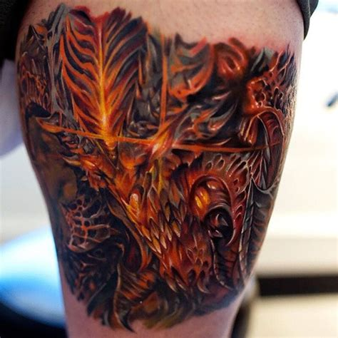 close up diablo tattoo best tattoo ideas gallery