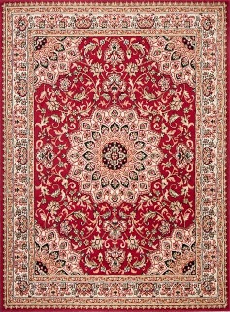 teppich 200x300 teppich orient perser orientalisch in rot mandala s