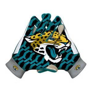 Jaguar Gloves Nike Jacksonville Jaguars Ko Gloves Graphite
