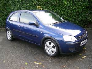 Blue Vauxhall Corsa Used Vauxhall Corsa 2004 Petrol 1 2i 16v Energy 3dr