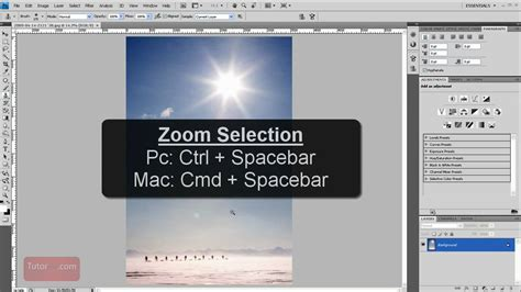 zoom pattern photoshop zoom in out shortcuts photoshop tutorial 60 seconds