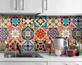 Kitchen Backsplash Stick On by Talavera Traditional Tiles Decals Tiles Stickers Tiles