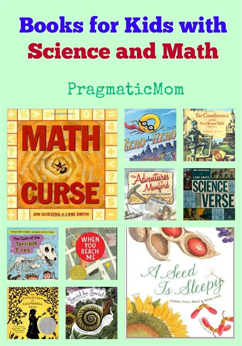 picture books for math book lists with science and math pragmaticmom