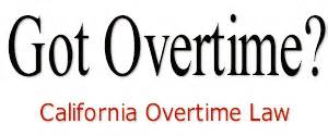 california labor code section 510 got overtime