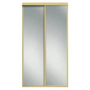 Interior Sliding Doors Home Depot Contractors Wardrobe 96 In X 81 In Concord Mirrored