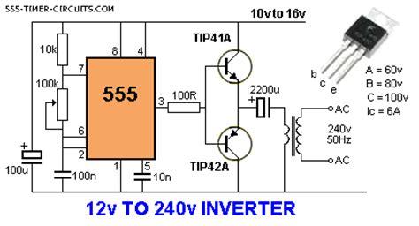 6v to 220v inverter circuit diagram 12v to 240v circuit circuit diagram images