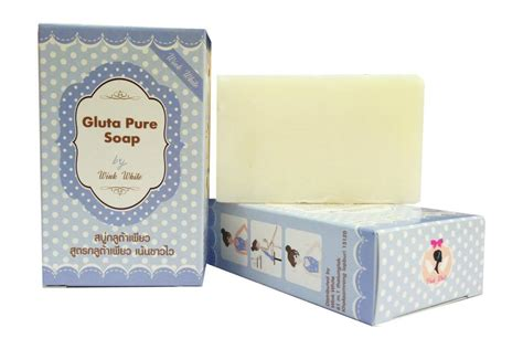Gluta Yogurt Soap 1 bar gluta soap glutathione whitening skin