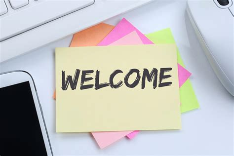 welcome message make a great impression with these welcome message ideas