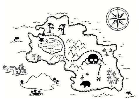 printable pirate treasure map for kids adult coloring coloriage carte au tr 233 sor dessins 224 imprimer gratuitement