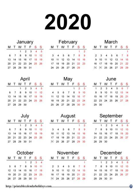 yearly calendar printable printable calendar template