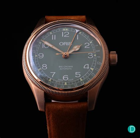 Oris Big Crown Pointer Date bronze for the summer review oris big crown pointer date
