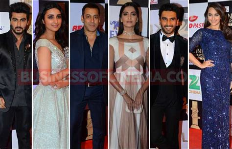 Glam Network Awards Ebeautydaily The by Zee Cine Awards Winners List Salman Sonam Ranveer