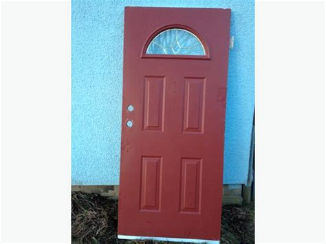 36 Metal Clad Exterior Door With Light Panel In Good Steel Clad Exterior Doors