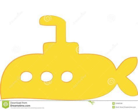 Submarine boat stock vector image 53392538