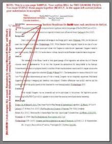 Outline Five Areas Of Asas Reform by Exle Of Annotated Bibliography Format Chris Ackerman