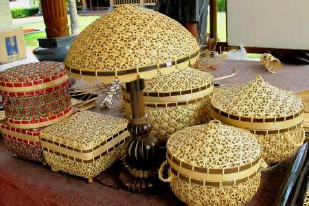 Keranjang Loak Bahan Kulit Bambu anyaman bambu kalo irik kerajinan tangan khas desa